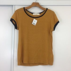 NWT! Urban Outfitters Mustard Tee ❣️